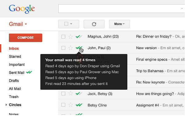 【经典网站】MailTrack|邮件寄送状态追踪工具
