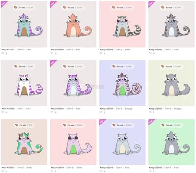 【经典网站】CryptoKitties|加密虚拟宠物养猫游戏