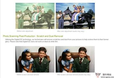 【经典网站】GoPhoto:老照片数码编辑服务平台