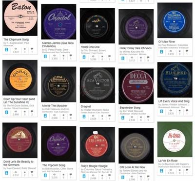 【经典网站】The Great 78 Project 免费黑胶唱片资源库