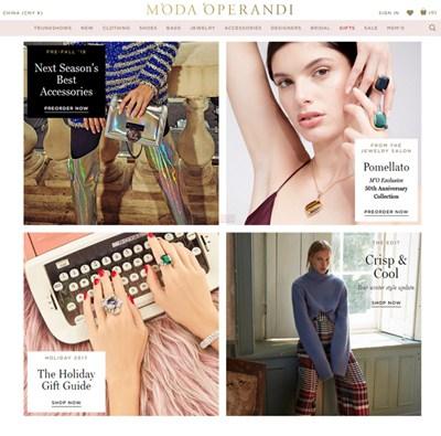 【经典网站】MO|美国奢侈品电商平台
