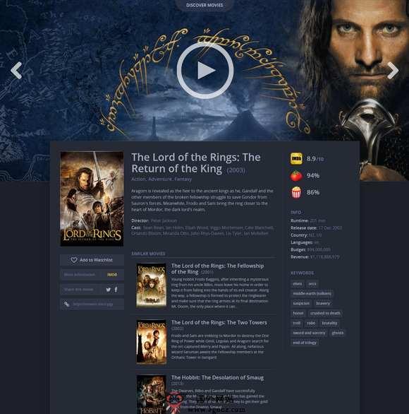 【经典网站】Movieo:在线电影探索网