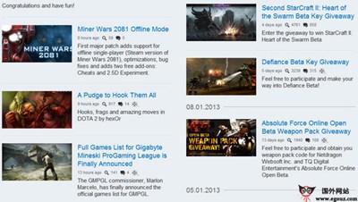 【经典网站】GamersBook:在线游戏评论社区