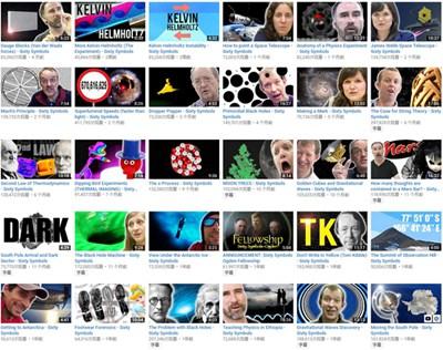 【经典网站】Sixty Symbols 物理和天文科普视频网