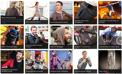 【经典网站】BetaBrand:限量服装饰品定制平台