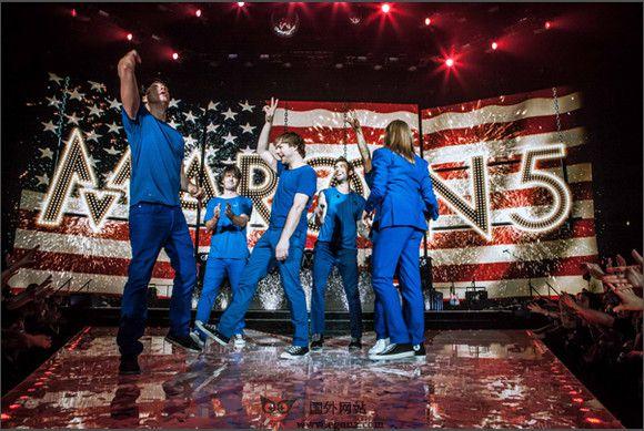 【经典网站】Maroon5:美国魔力红乐队官网