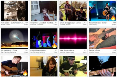 【经典网站】FanDaLism:音乐艺术家社交网
