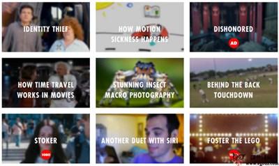 【经典网站】Devour:优秀网络视频资源分享平台