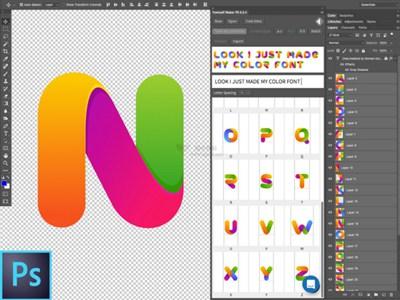 【工具类】Fontself|特殊字体设计PS/AI插件