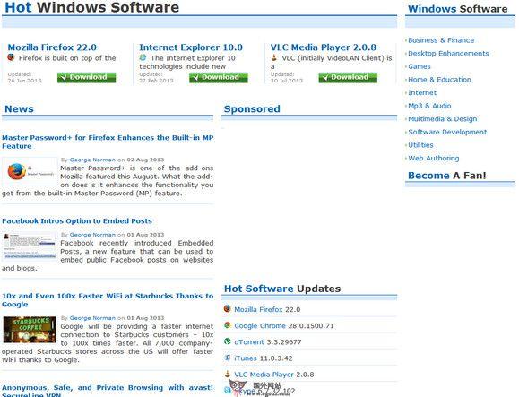 【经典网站】FindMySoft:国外软件下载目录