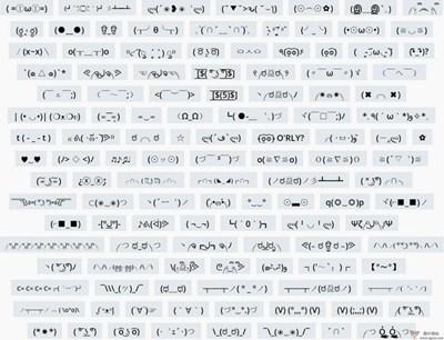 【素材网站】Emot:日本颜文字表情符号网