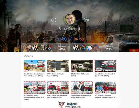 【经典网站】Player.me:游戏达人个人粉丝团平台