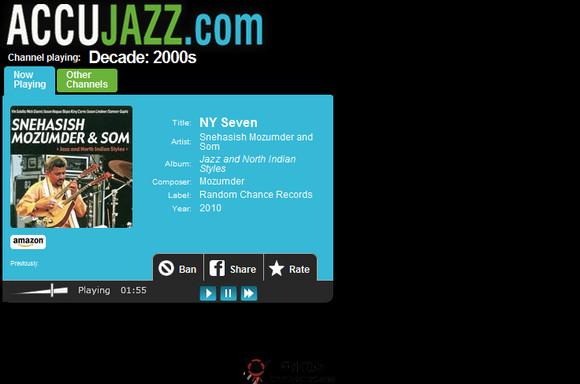 【经典网站】AccuJazz:在线爵士音乐电台