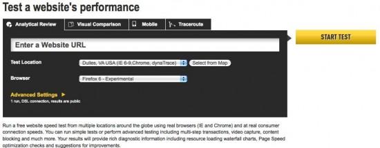 【数据测试】12 个免费在线的 Web 网站性能测试工具