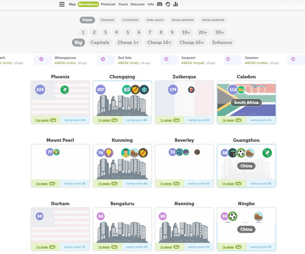 【经典网站】加密城市|区块链模拟经营类游戏