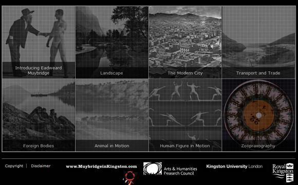 【经典网站】Eadweard:埃德沃德活动影像网