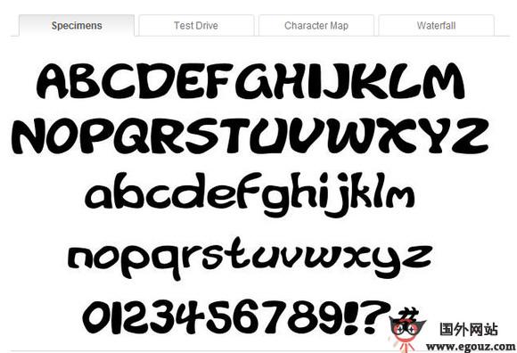 【素材网站】FontRiver:免费多国字体下载网