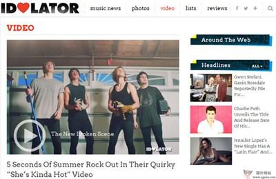 【经典网站】IdoLator:国际音乐评论新闻网
