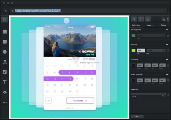 【工具类】Vectr|免费跨平台图形编辑工具