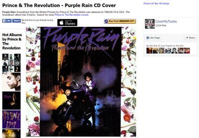 【经典网站】CoverMyTunes:苹果音乐搜索引擎