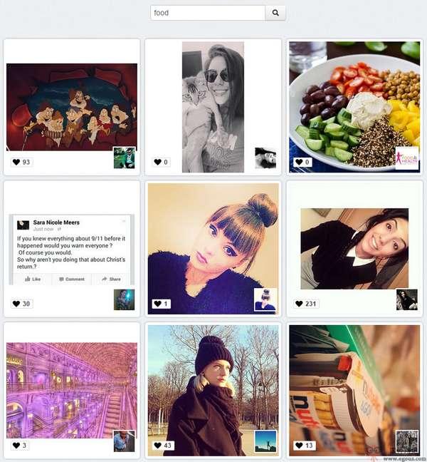 【工具类】Dinsta:基于Instagram图片搜索下载工具