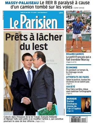 【经典网站】Le Parisien 法国巴黎人报