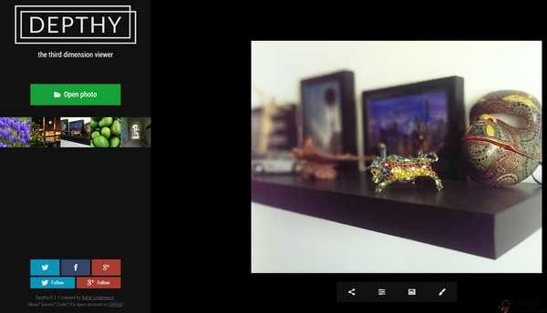 【工具类】Depthy:在线景深照3D效果模拟工具