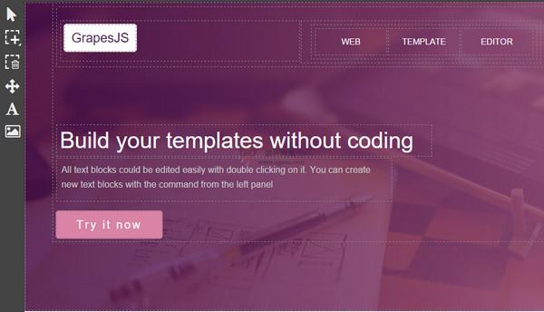 【工具类】Grapesjs:免费开源Web编辑器