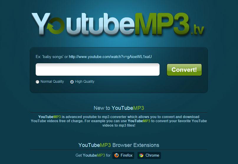 【数据测试】YoutubeMP3:在线将Youtube视频转换成MP3