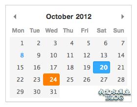【Wordpress相关】JavaScript 日期选择器 Pikaday 简介和使用