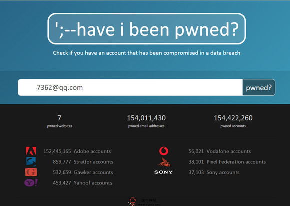 【工具类】HaveiBeenpwned:在线邮箱安全检测工具