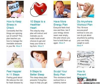 【经典网站】Realage:在线健康测试评估网
