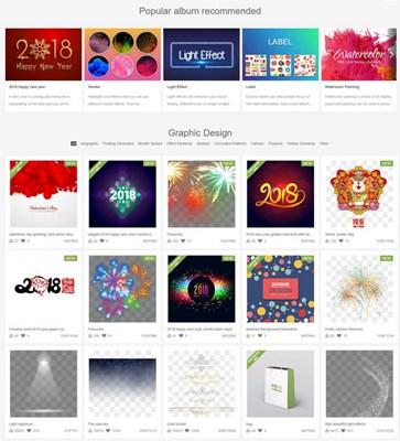 【素材网站】PngTree|免费设计师设计素材库