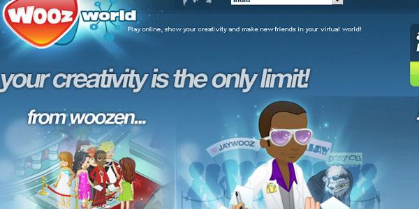 【经典网站】WoozWorld:儿童虚拟社区