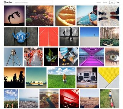 【素材网站】Reshot|免费视觉图片共享平台