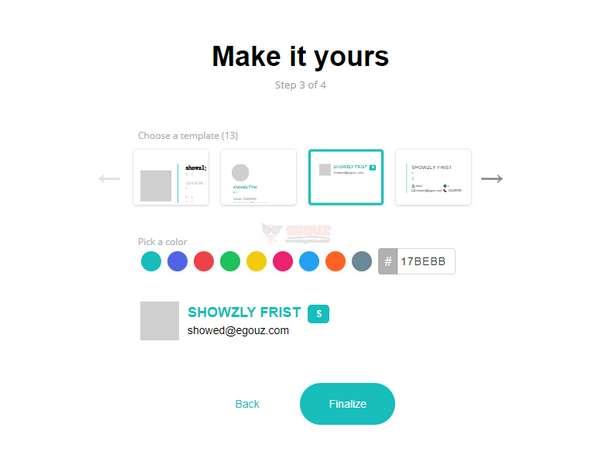 【工具类】在线个性化邮箱签名设计工具