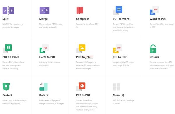 【工具类】PDF.io|在线免费PDF工具集合