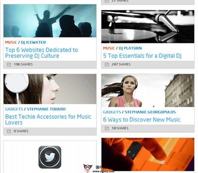 【经典网站】MyLifeScoop:在线数字化内容分享网