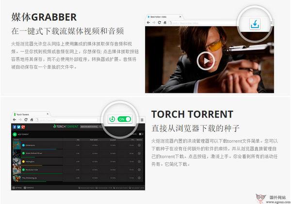 【工具类】TorchBrowser:火炬浏览器官网