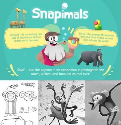 【经典网站】Snapimals:治愈系野生动物拍照游戏