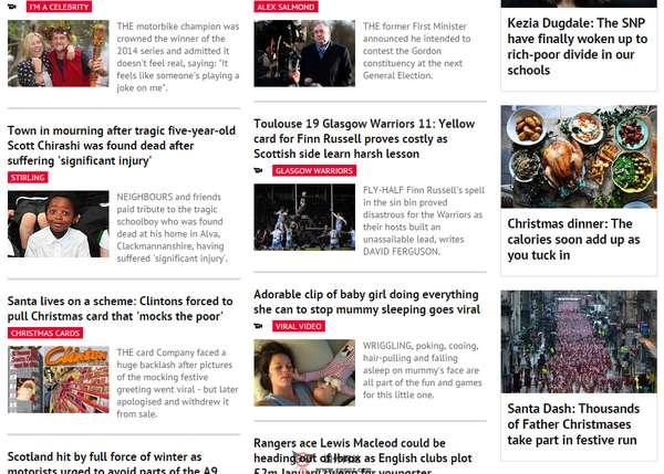 【经典网站】DailyRecord:苏格兰每日记录报