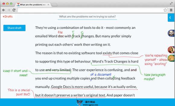【工具类】PoetiCa:在线文本实时反馈沟通平台