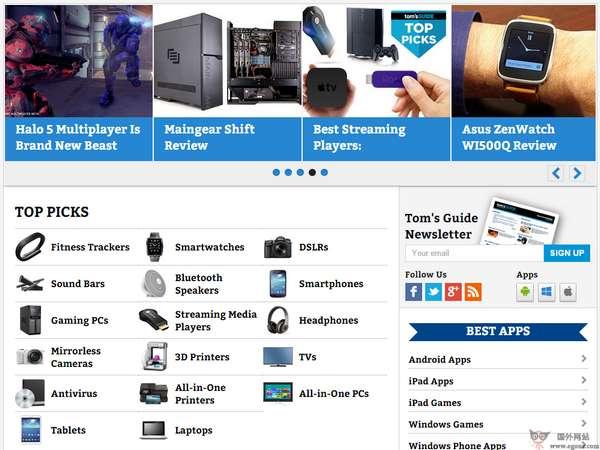 【经典网站】TomsGuide:汤姆高科技产品指南