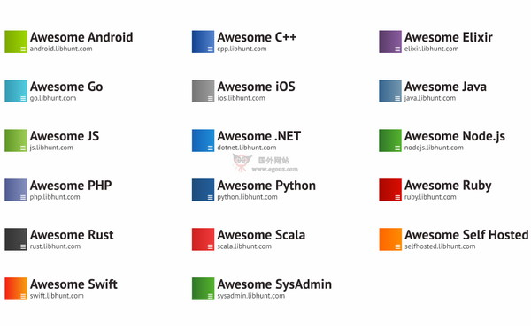 【经典网站】LibHunt|程序员编程实用资源库