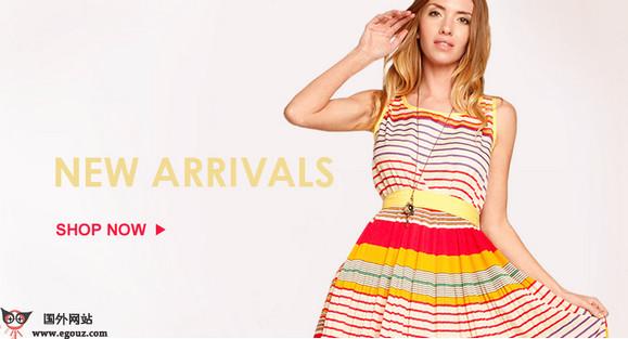 【经典网站】ShopTiques:精品女装网上商店