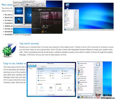 【经典网站】ZoRin-OS:免费开源Ubuntu Linux系统官方网站