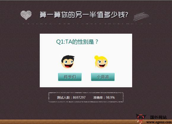 【经典网站】UQude:有趣网测试互动社区
