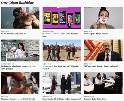 【经典网站】Haber7:土耳其第七新闻频道网