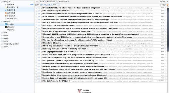 【经典网站】Tiny Tiny RSS:小小RSS订阅平台