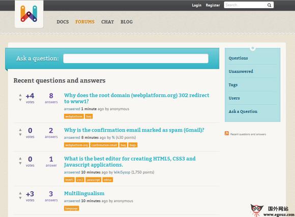 【经典网站】WebPlatform:W3C网络标准普及平台
